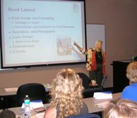 Frances Keiser teaching at UNF